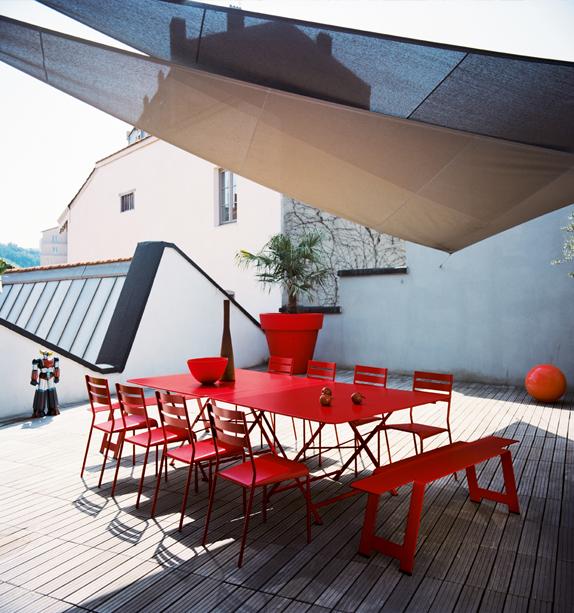 Table Jardin Fermob. Beautiful Table De Jardin Rectangle Costa ...