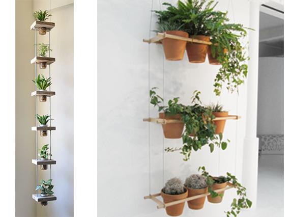 Les plantes prennent de la hauteur dans votre int rieur for Porte plantes d interieur