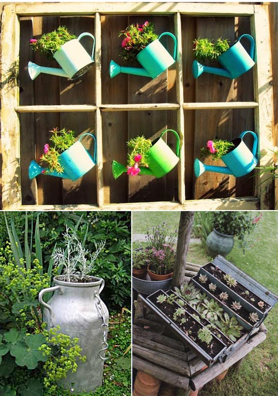 Deco jardin metal decorating ideas - Idee deco de jardin exterieur ...