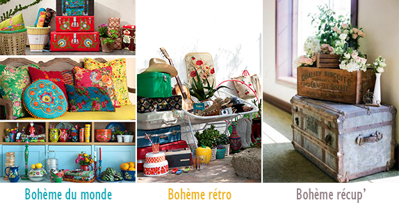 Inspiration boh me chic le grand petit monde fermob for Deco sejour boheme