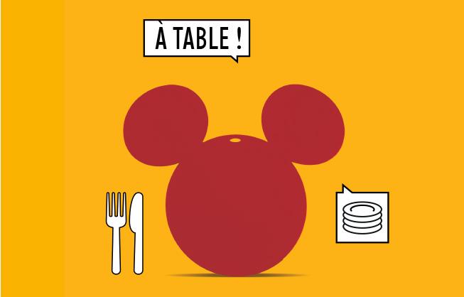 Mickey x Fermob Dessous de plat